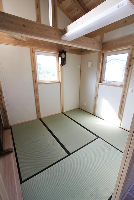 2階の和室も自慢のひとつ